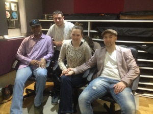 Dominic Daniel and team at Greystoke Studio